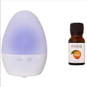 Unplug Meditation Aromatherapy Diffuser Orange Oil